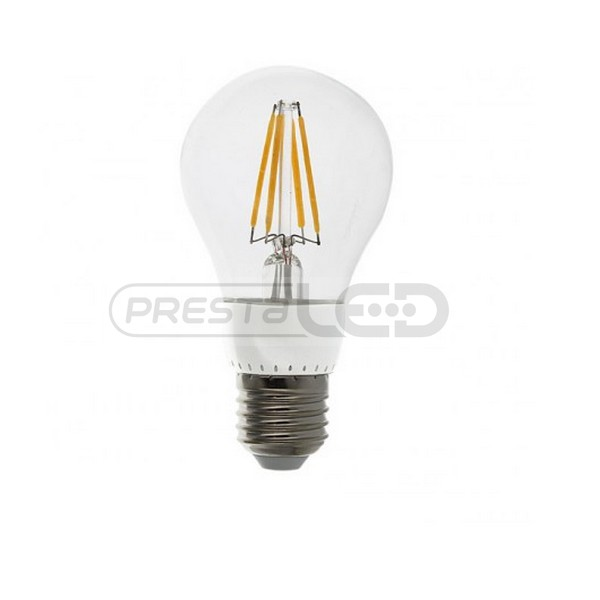 ampoule lampe led filament cob e27 a60 4w blanc chaud. Black Bedroom Furniture Sets. Home Design Ideas