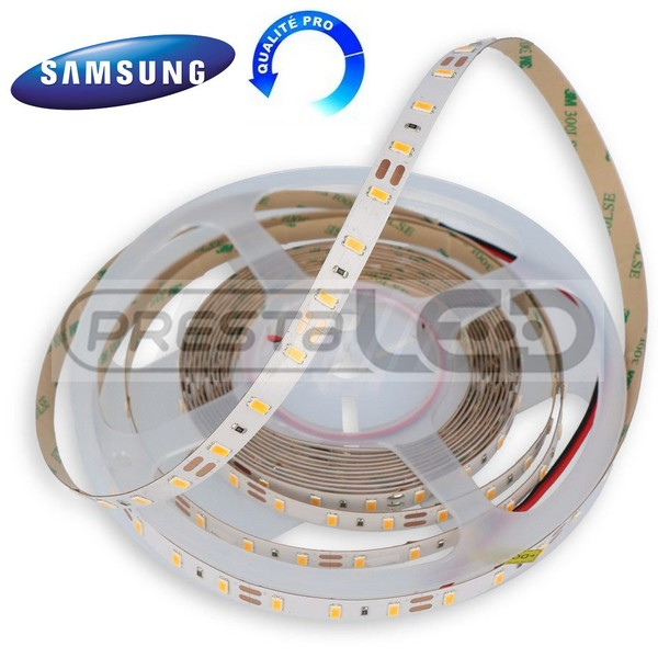 Ruban led 12v de 5 metres compose de led smd samsung - Ruban led 12v ...